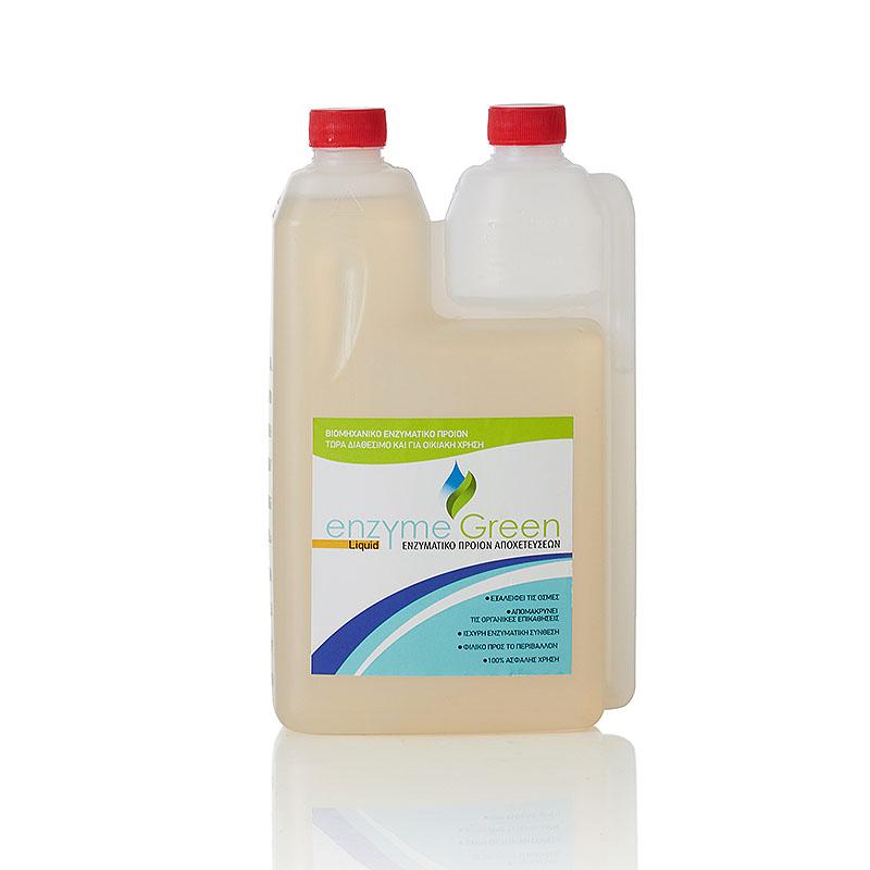 enzyme green liquid
